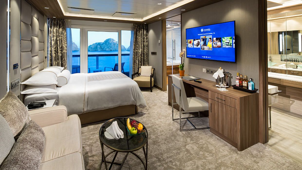Bedroom - Azamara Journey & Quest