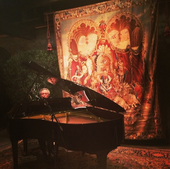 Piano, Wine, Music