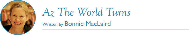 Az The World Turns - Written by Bonnie MacLaird