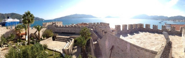Panoramic View from Marmaris Castle