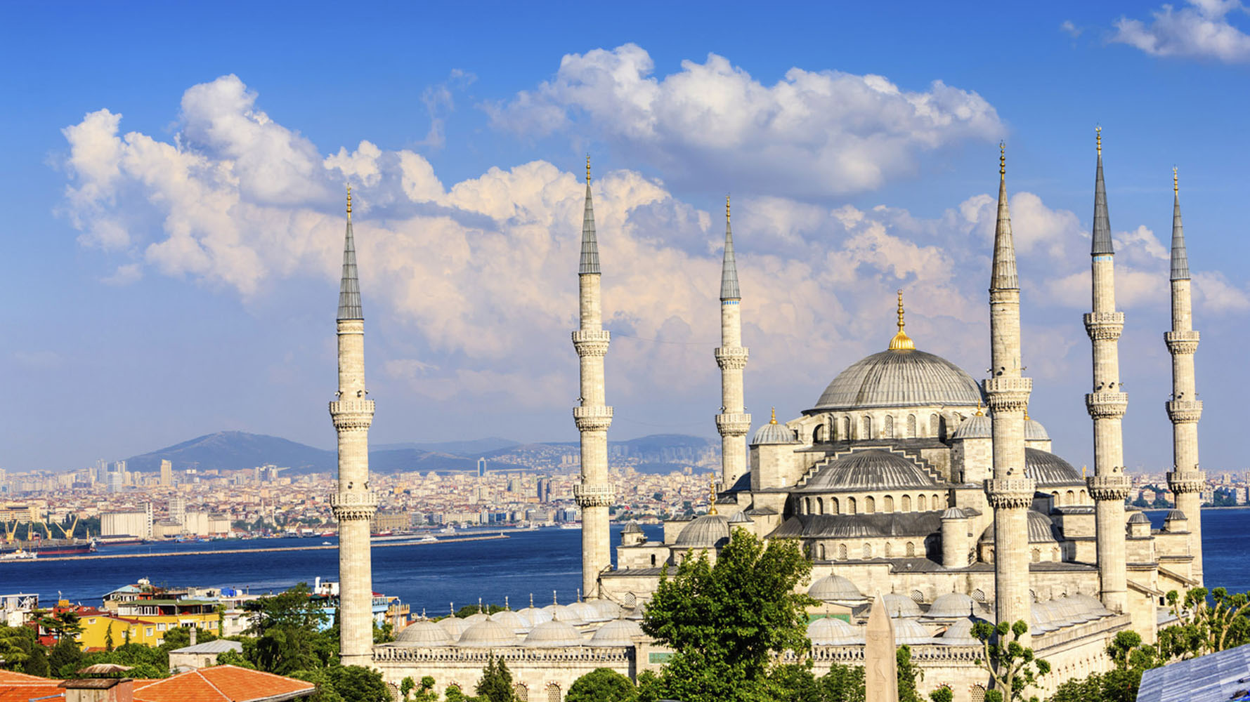 Istanbul's Blue Mosque via Azamara Club Cruises