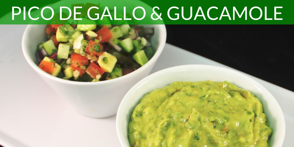 Pico de Gallo and Guacamole are popular party food!