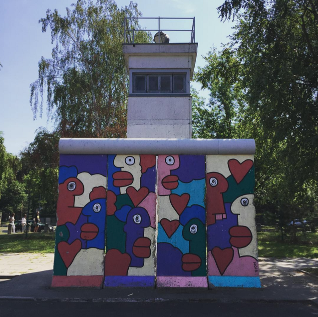 Portion of Berlin Wall