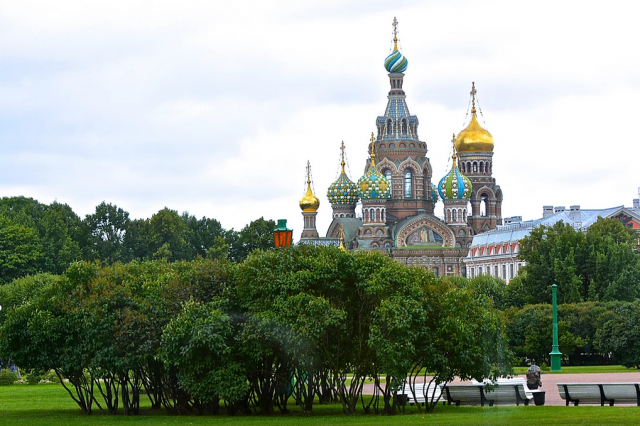 St. Petersburg with Azamara Club Cruises.