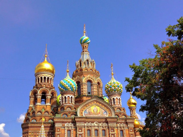 Church of Spilled Blood in St. Petersburg
