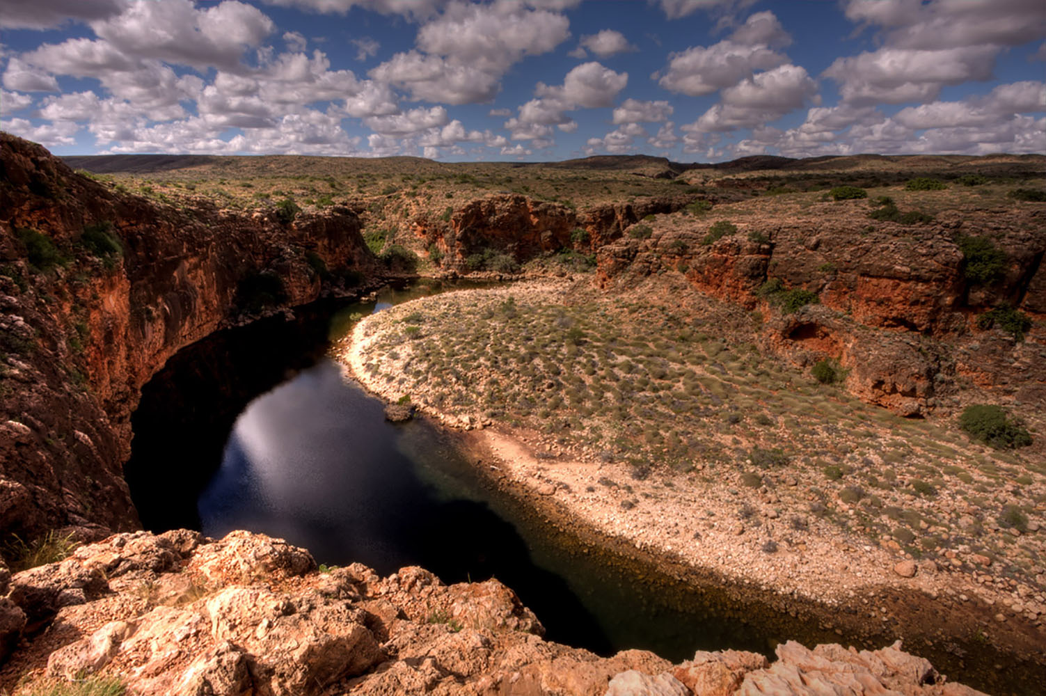 ​Yardie Creek Gorge in Exmouth, Australia