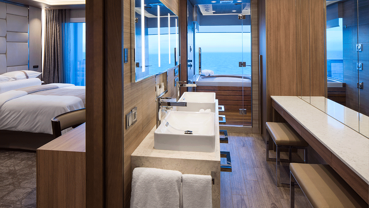 Bathroom - Azamara Pursuit