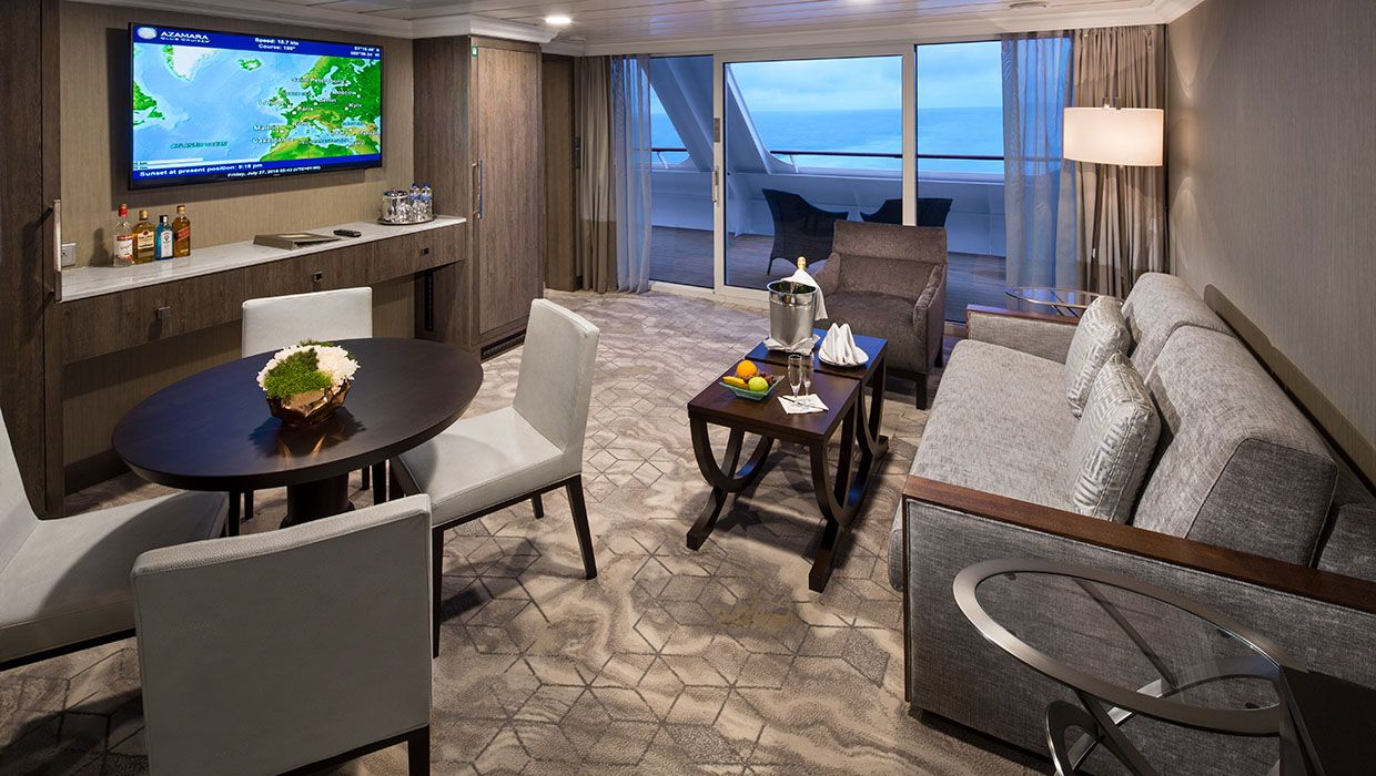 Living Room - Azamara Pursuit
