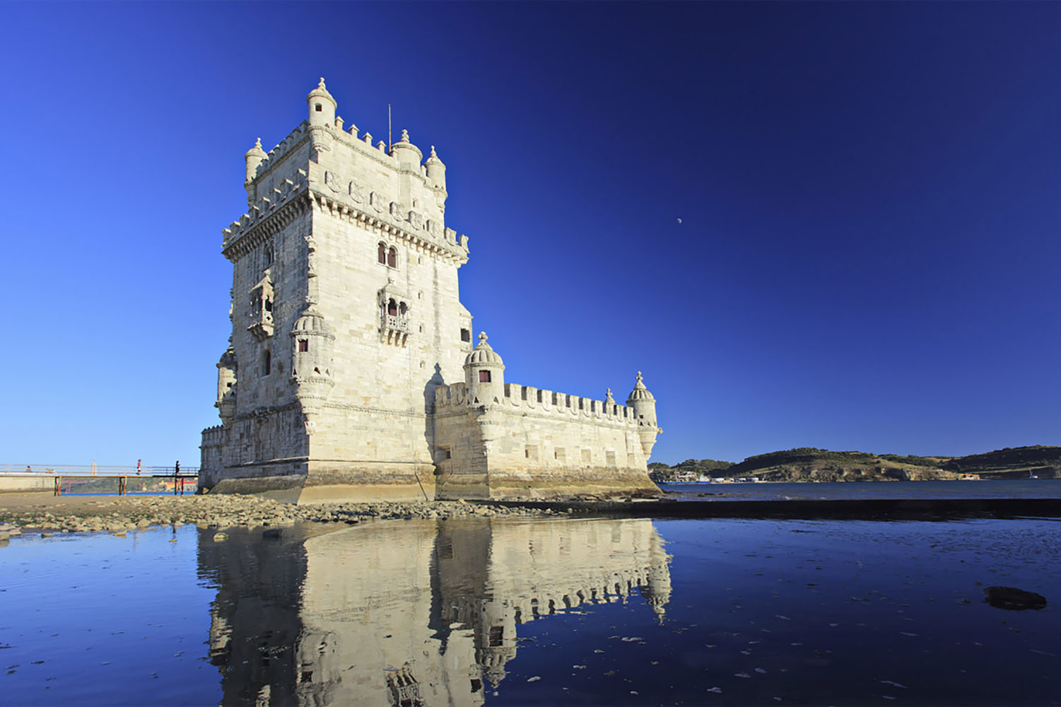 Belém is a district in Lisbon located at the mouth of the Rio Tejo and a must-see!