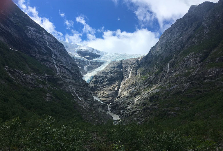 Norwegian Glacier- Cruising isn't just for old people