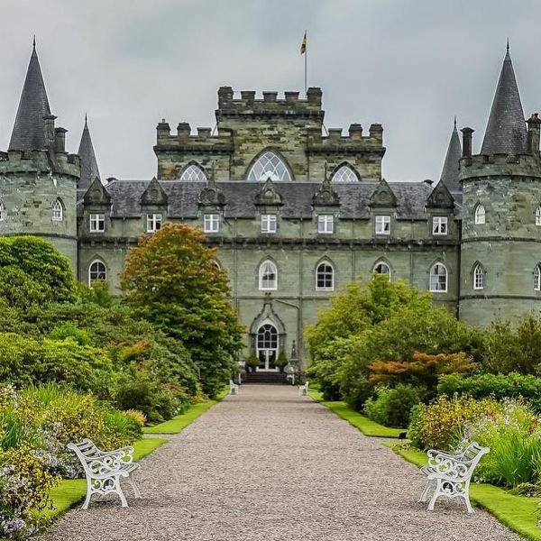 Iconic Inveraray Castle is a Scotland Must-See