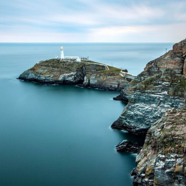 A Lighthouse On The Irish Sea