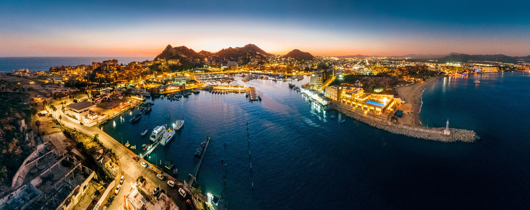 Cabo San Lucas is one of Mexico's best cities for enjoying nightlife.