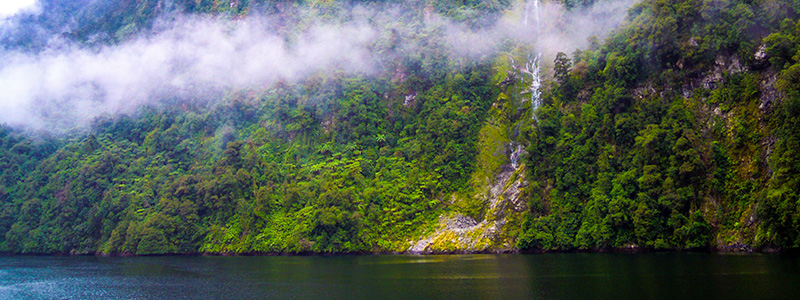 Doubtful Sound Waterfalls