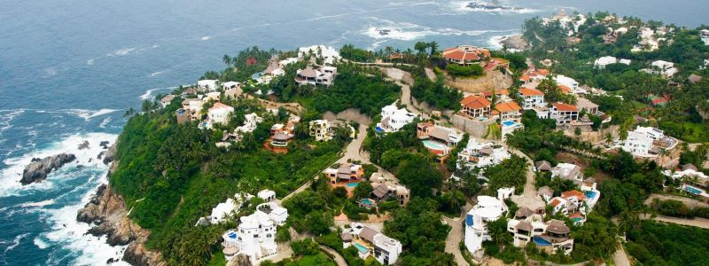 Colima City and Comala Village