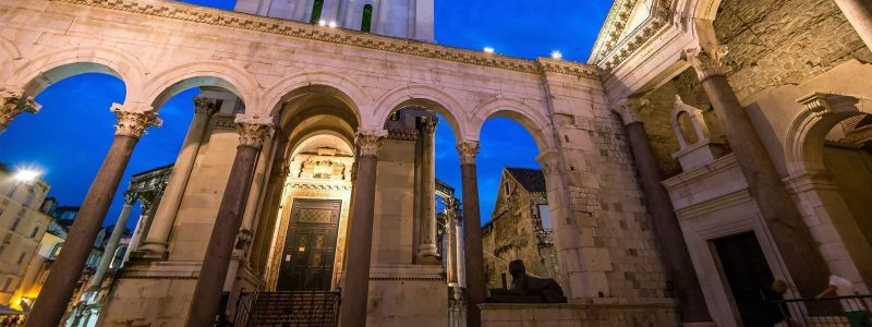 Diocletian's Palace And Cellar