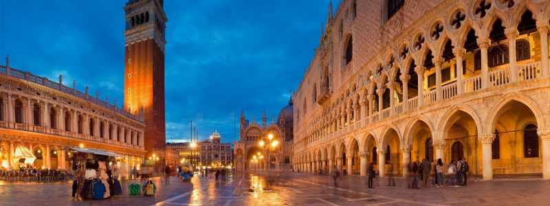 St. Mark's Square And Basilica