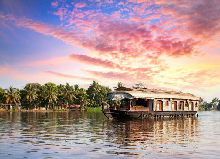 The Backwaters of Alappuzha