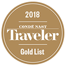 Conde Nast Traveler Gold List 2018