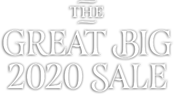 The Great Big 2020 Sale