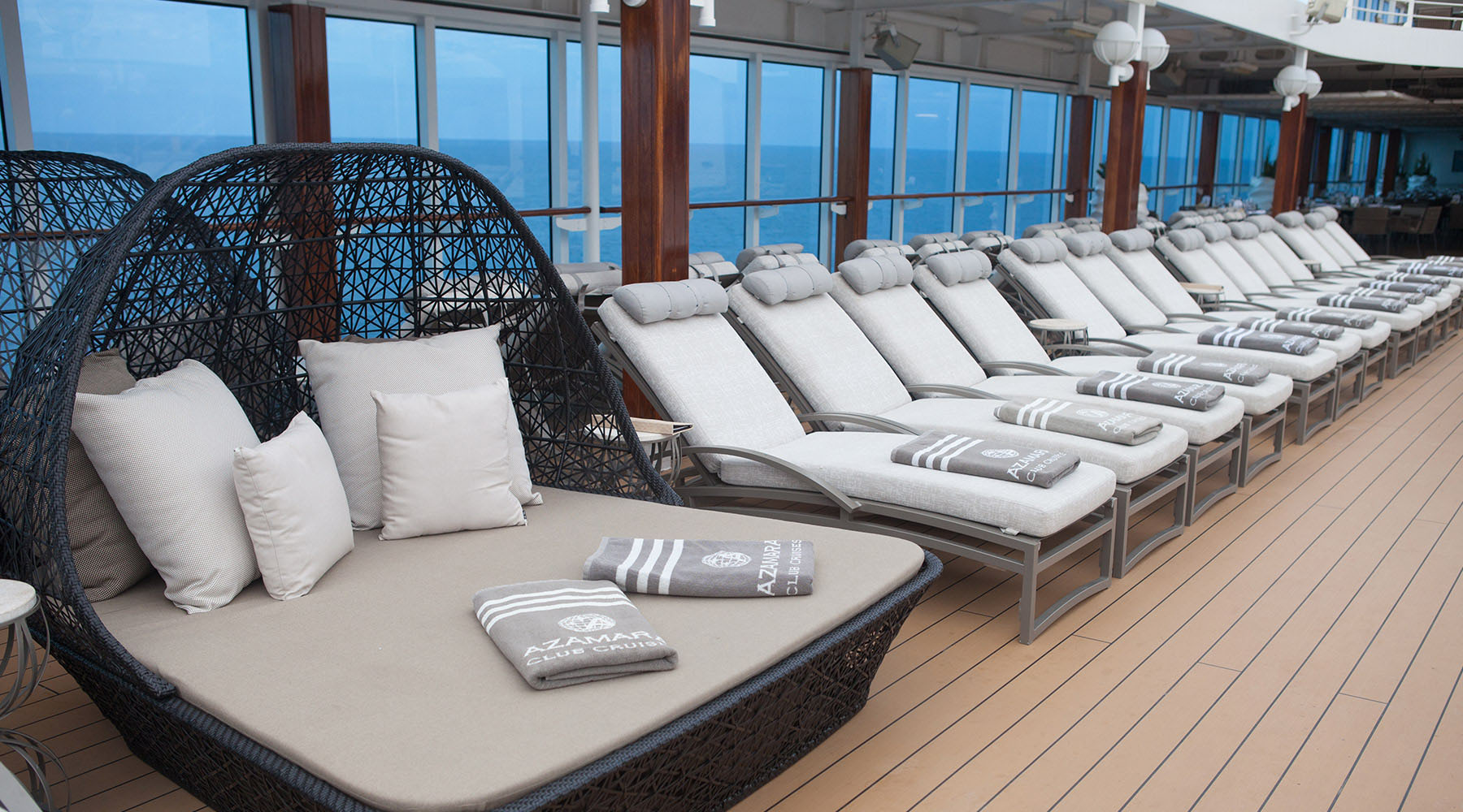 Sitting in Style on Azamara Club Cruises!