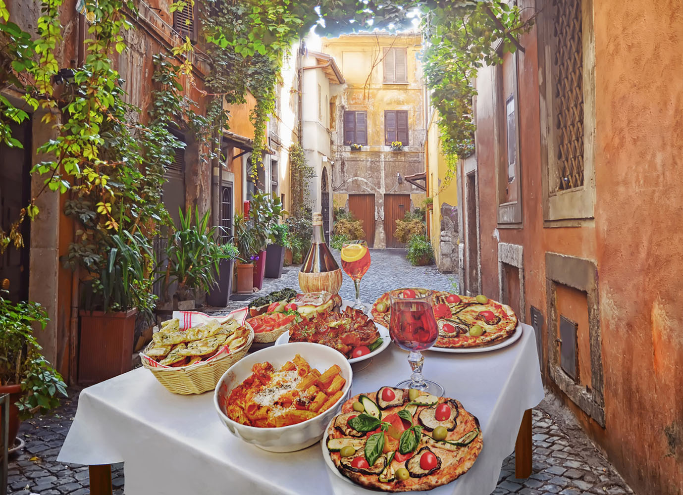 A Regional Sampling of Italian Cuisine