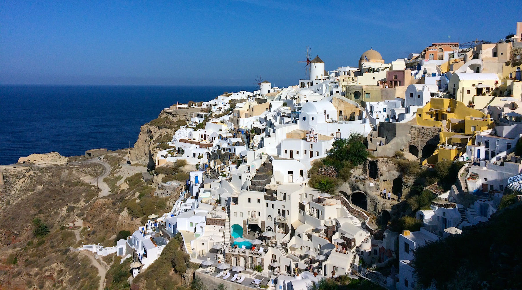 Cruising to Dreamy Santorini with the Azamara Quest
