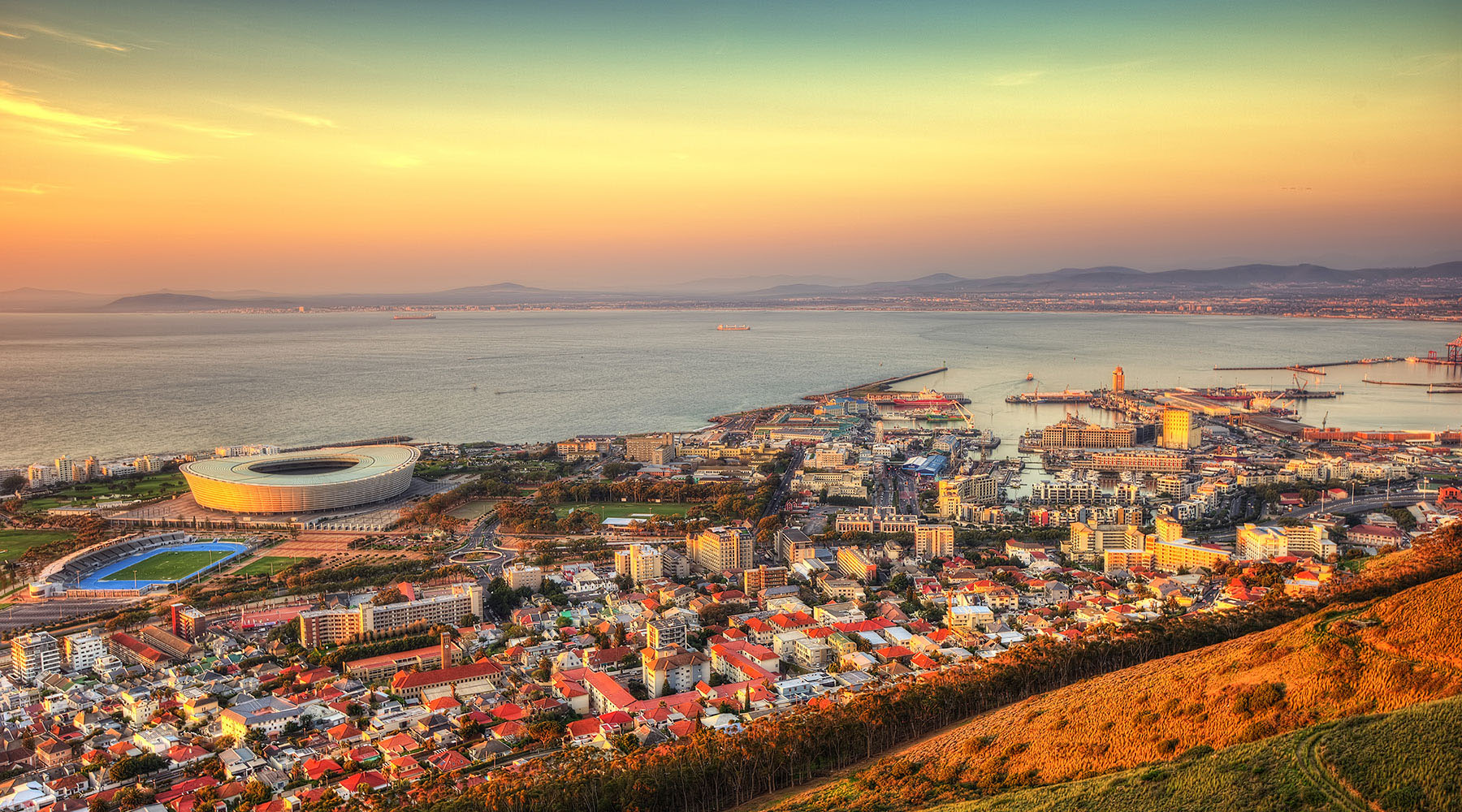 55-Night Grand Voyage: Cape Town To Rome