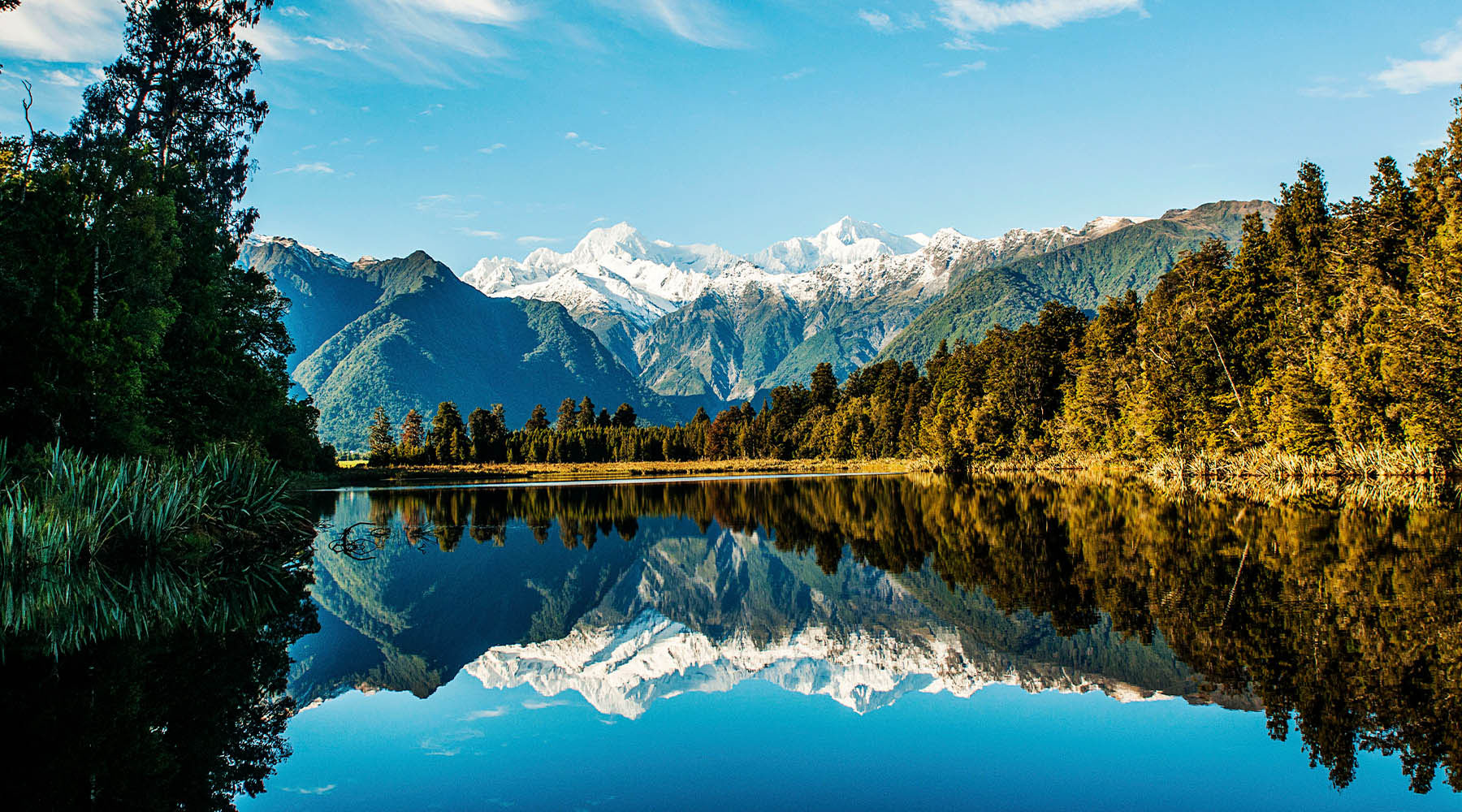 South Island: Alpine Rail and Mount Cook
