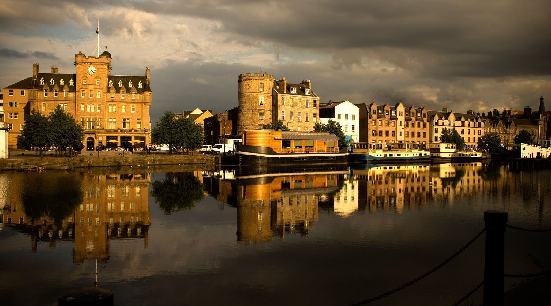 Luxury Voyages to Leith (Edinburgh), Scotland