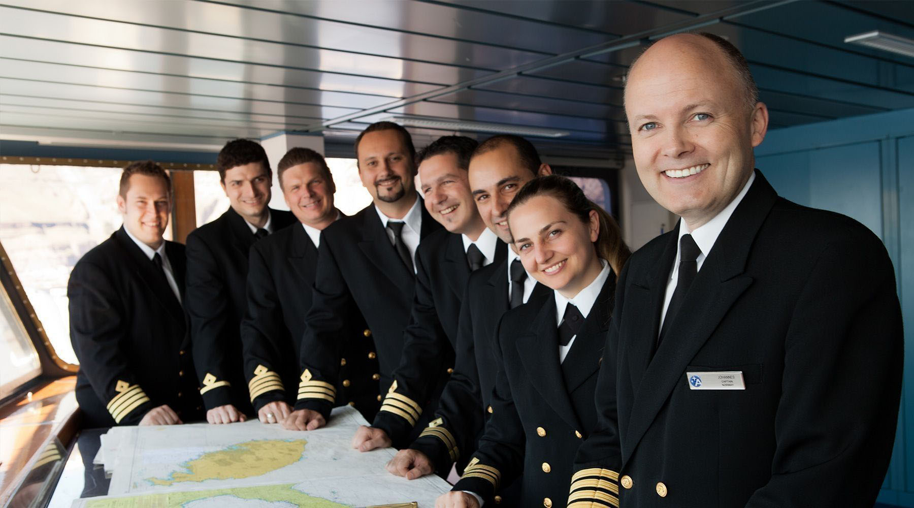 Meet Our Captains and Crew