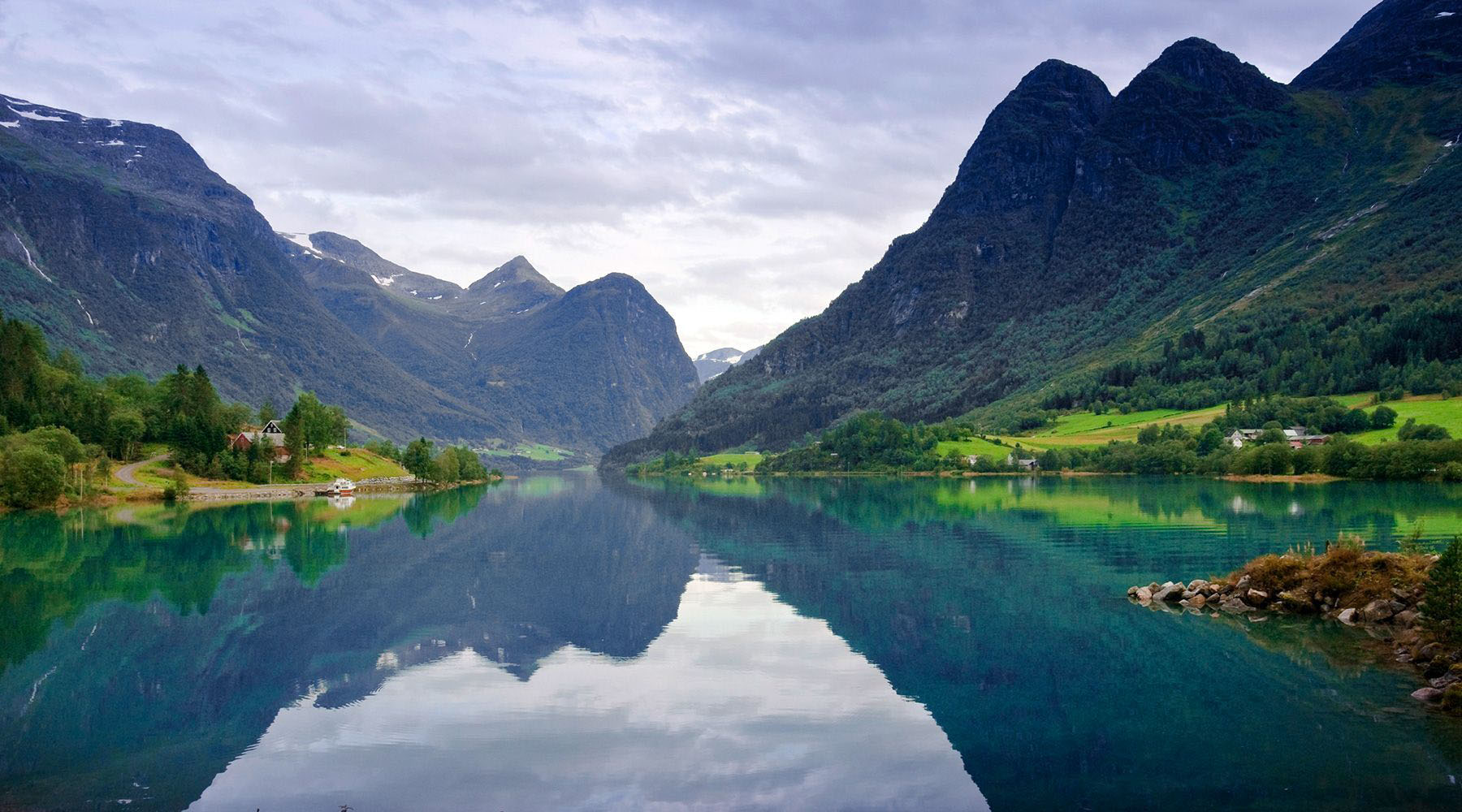 Luxury Cruises to Olden, Norway