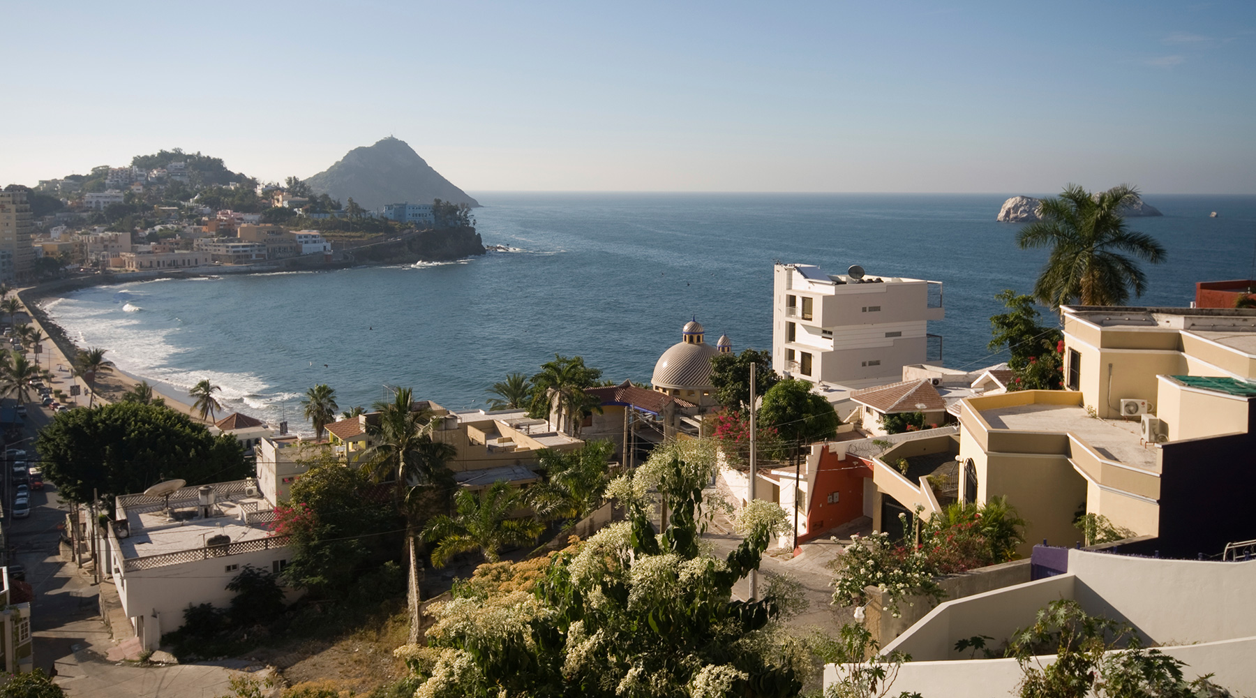 Mazatlan is one of Mexico's many charming seaside towns.