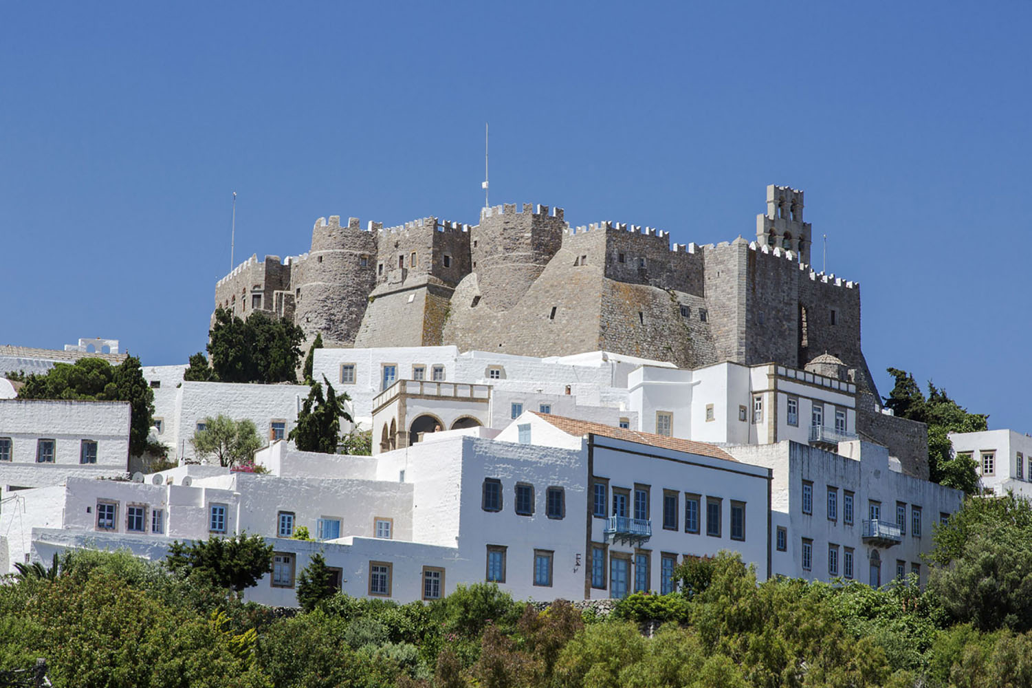 St. John's Monastery in Patmos, Greece.