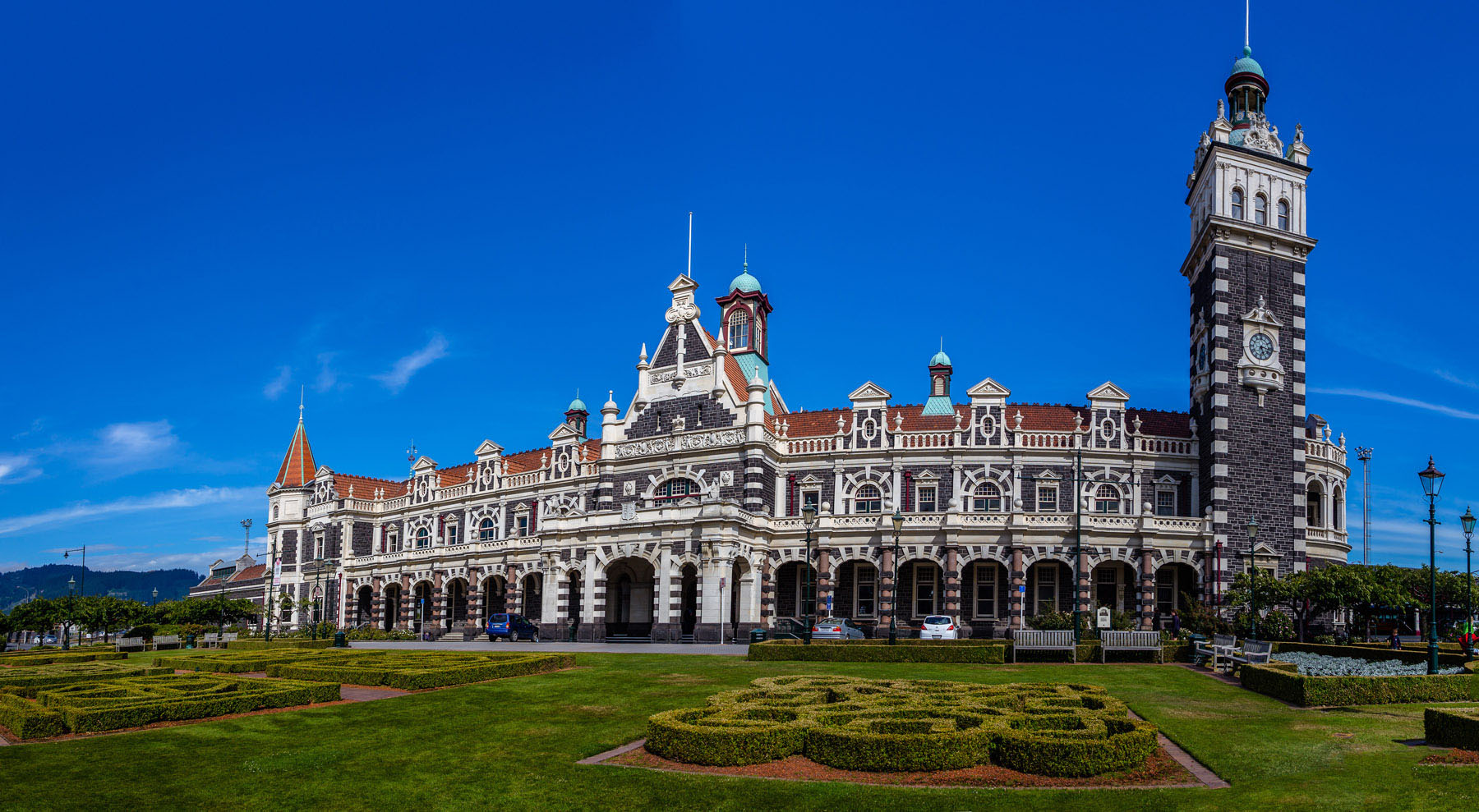 Dunedin, New Zealand is known for great architecture.