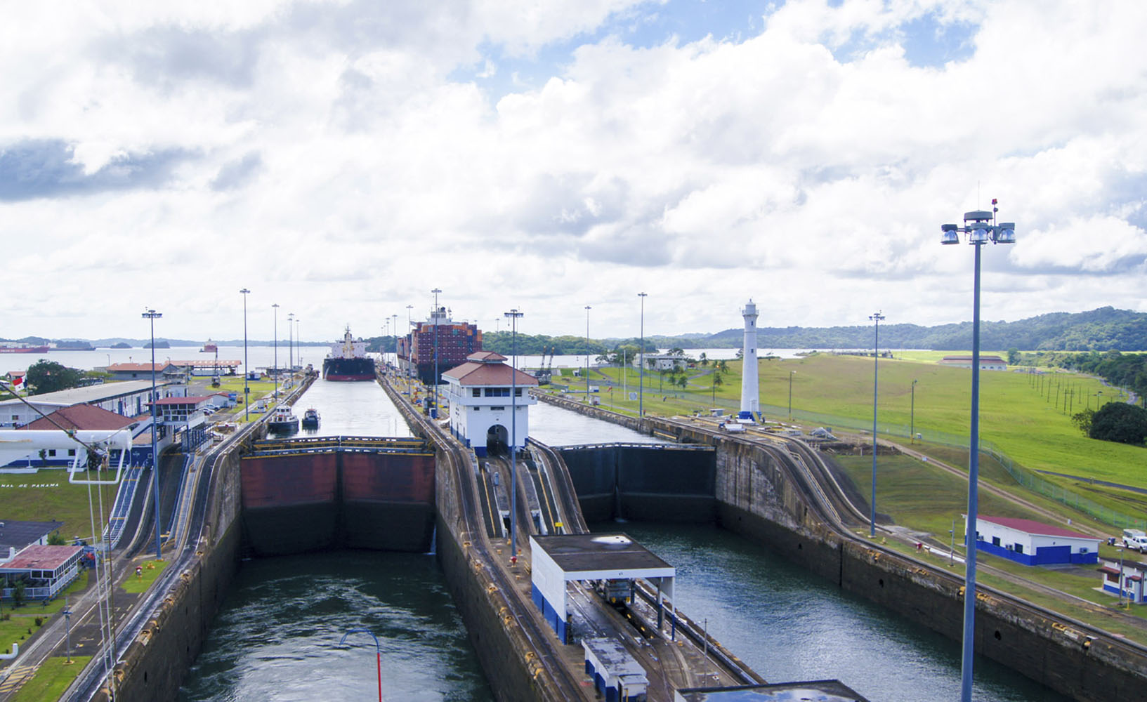 Traversing the Panama Canal is a bucket list experience.