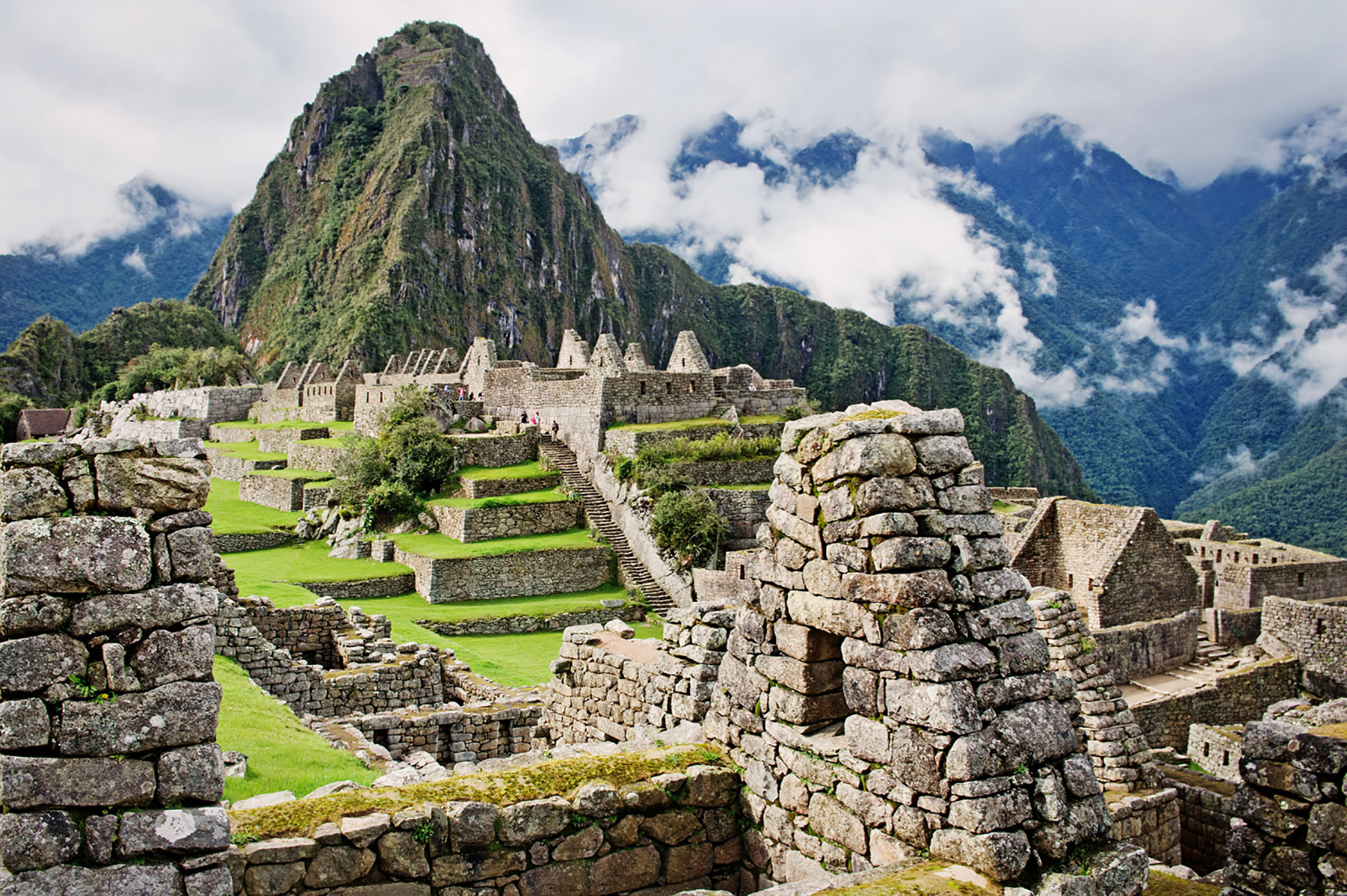 You can visit Macchu Picchu when you travel to South America with Azamara Club Cruises.
