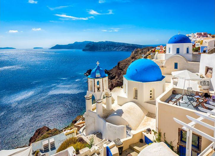 Ancient Treasures & Charming Towns of Santorini