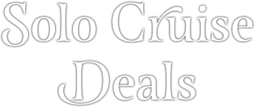 Solo Cruise Deals