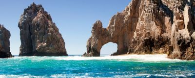 El Arco rock formation in Cabo San Lucas, Mexico.