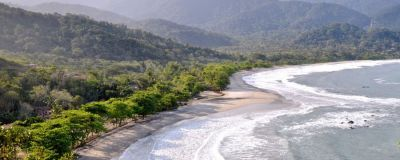 A beautiful beach in Ilhabela, Brazil.