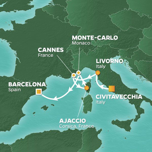 8 NIGHT GRAND PRIX & CANNES VOYAGE