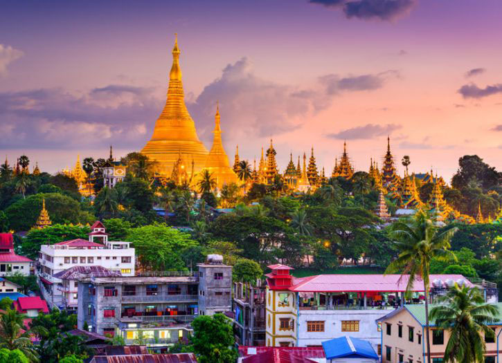 Highlights of Yangon Tour
